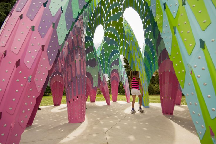 10 Colorful Installation Artworks That Turn the City into A Playground - Arch2O.com