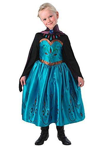 Kostium dziecięcy ELSA z koronacji 8-10 lat
