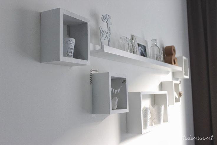 vierkante kastjes op muur - Google zoeken