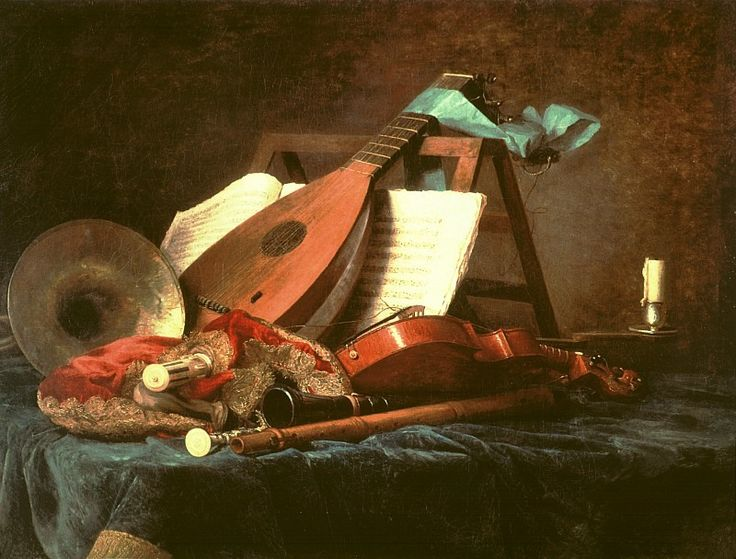 Anne Vallayer-Coster, Attributes of Music, 1770