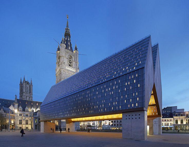 Mercado Municipal em Ghent / Marie-José Van Hee + Robbrecht & Daem, de Hufton + Crow