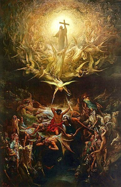 The Triumph Of Christianity Over Paganism.Gustave Doré - Gustave Doré - Wikimedia Commons