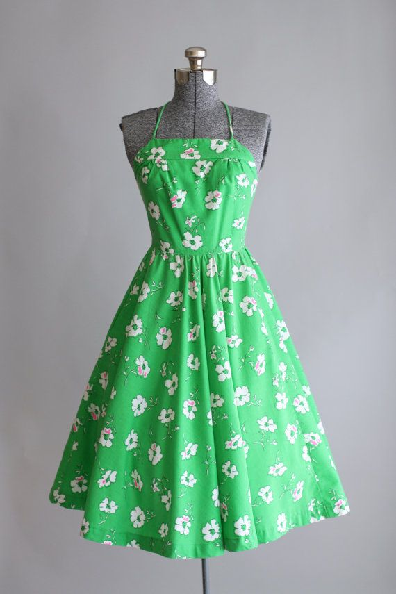 Vintage 1960s Dress / XS/S / Lanz Originals /  TuesdayRoseVintage