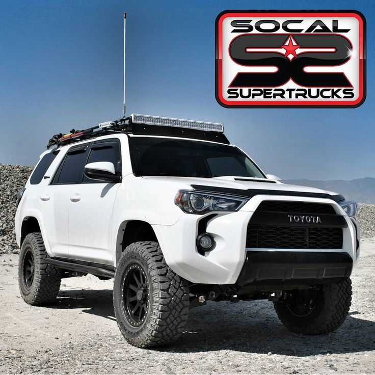 «#4RunnerFriday . This 2015 4Runner with an ICON Vehicle Dynamics Suspension System (@ivdsuspension) is One BadAss Machine! It Couldn't Get Anything Less…»