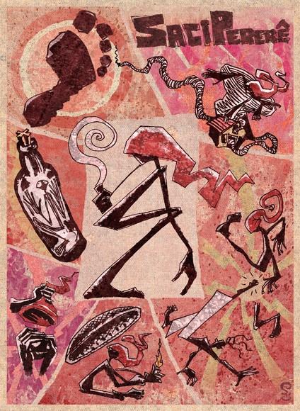 Poster SACI PERERÊ 2011