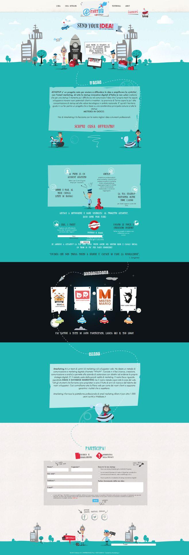 Unique Web Design, 4StartUp #WebDesign #Design (http://www.pinterest.com/aldenchong/)