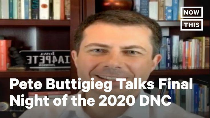 Usanews Pete Buttigieg Joins Nowthis For Dnc Interview Nowthis In 2020 Dnc Interview Pete