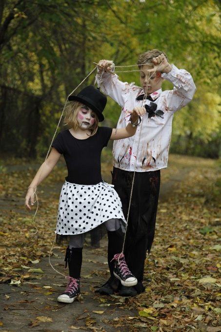 My favourite brother & sister costumes as seen in Canadian Family magazine.