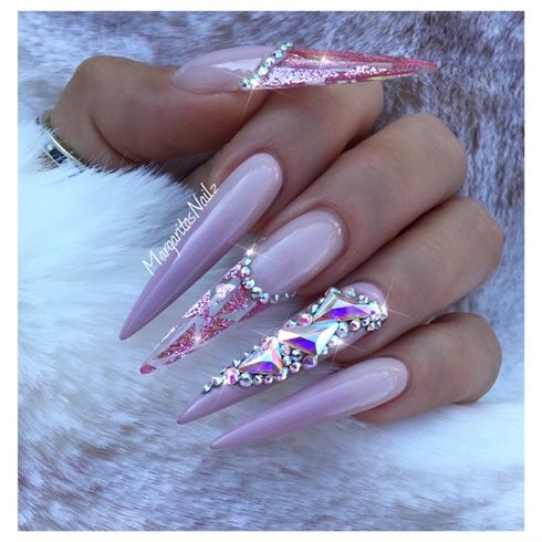 Best 25 summer stiletto nails ideas on pinterest stiletto nail summer stiletto nails by margaritasnailz from nail art gallery prinsesfo Image collections
