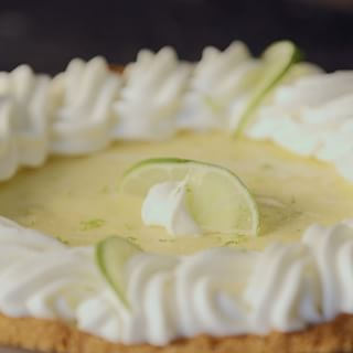 """Frozen Key Lime Pie - Barefoot Contessa For an """"at the ready"""" summertime dessert to serve at home or bring to friends"""