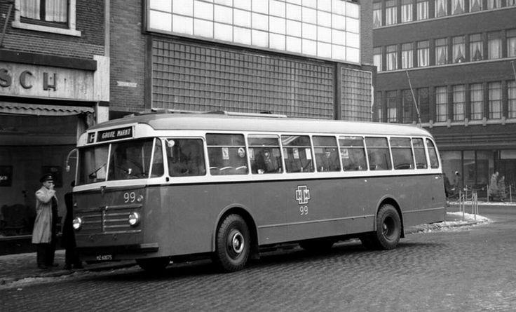 LTM, Heerlen bus 99 een AEC Regal Mk IV - Verheul