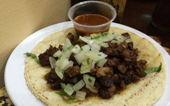 Check out La Cenaduria's Authentic Mexican Food
