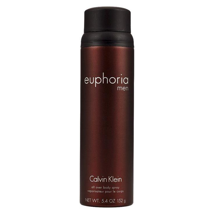 Men's Euphoria by Calvin Klein Body Spray - 5.4 oz