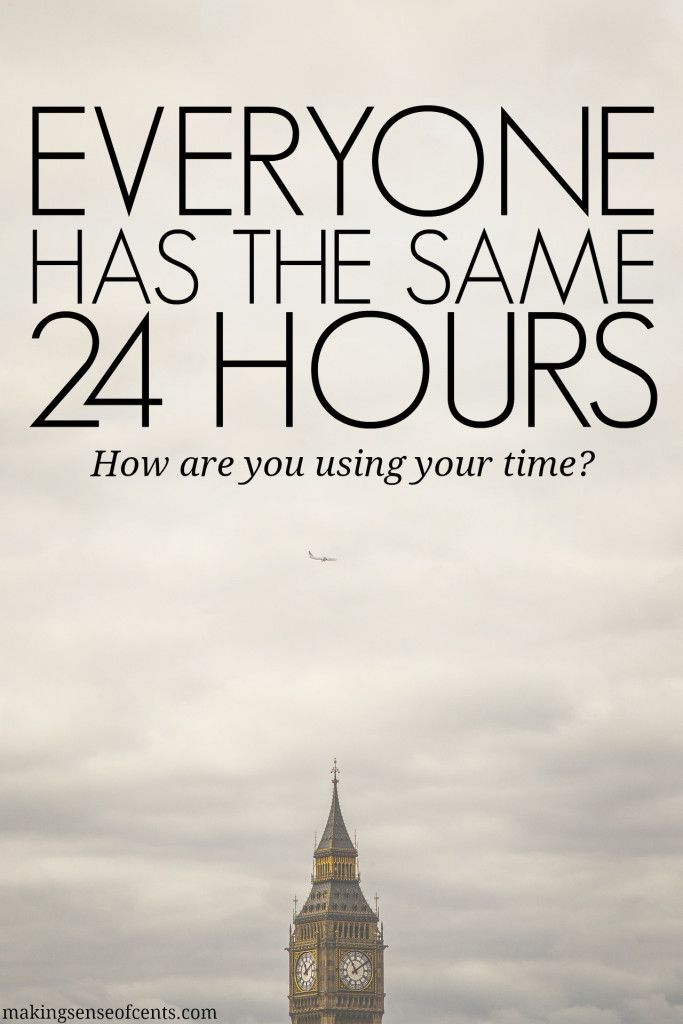 Everyone has the same 24 hours in a day. What you do with it is up to you, but you may be wasting time every single day and this may be holding you back.