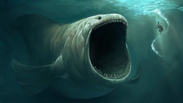 Древние морские чудовища