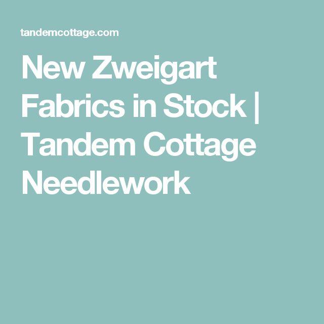 New Zweigart Fabrics in Stock | Tandem Cottage Needlework