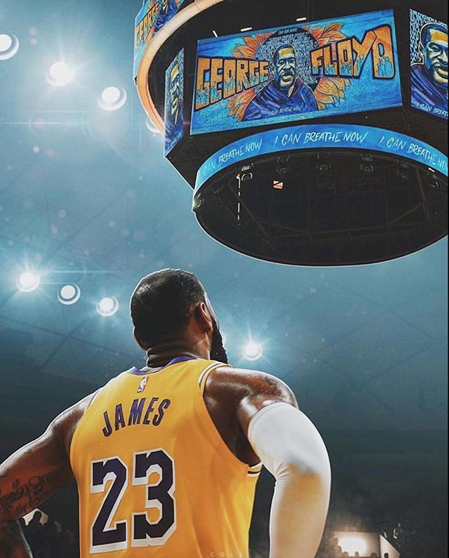 Lebron James On Instagram George Floyd S Nephew Says His Uncle Was A Huge Lebron Fan He Was The Biggest Lebr In 2020 Lebron James King Lebron James King Lebron