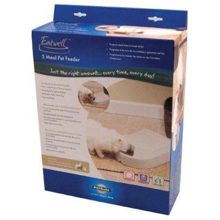 Petsafea 5 Meal Automatic Dog And Cat Feeder Multicolor Pet