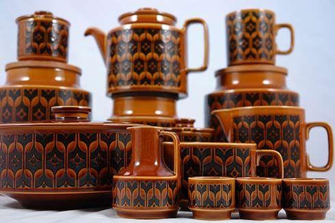 Hornsea pottery-hmmm, egg cups look familiar...