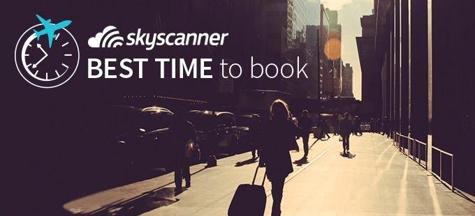 Skyscanner statistics: When is the best time to book your flight, depending on the city you're going to? (TÄÄ ON NIIN KÄTEVÄ)