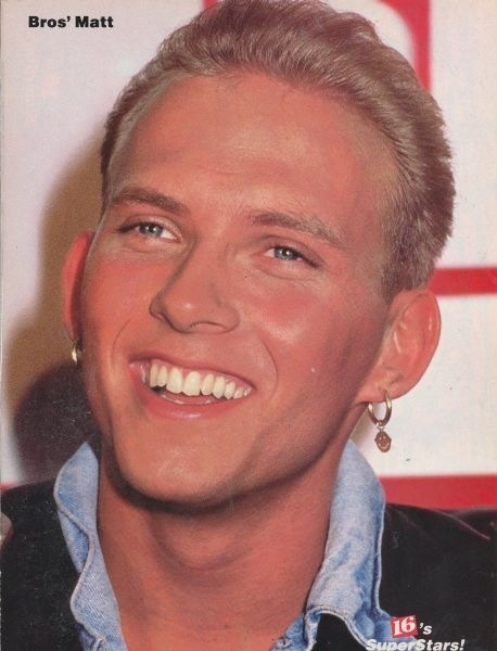 Young Matt...love that smile.