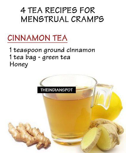 Tea for cramp relief