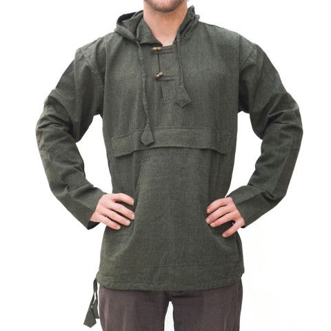 Hemp Hooded Shirt/Kurta