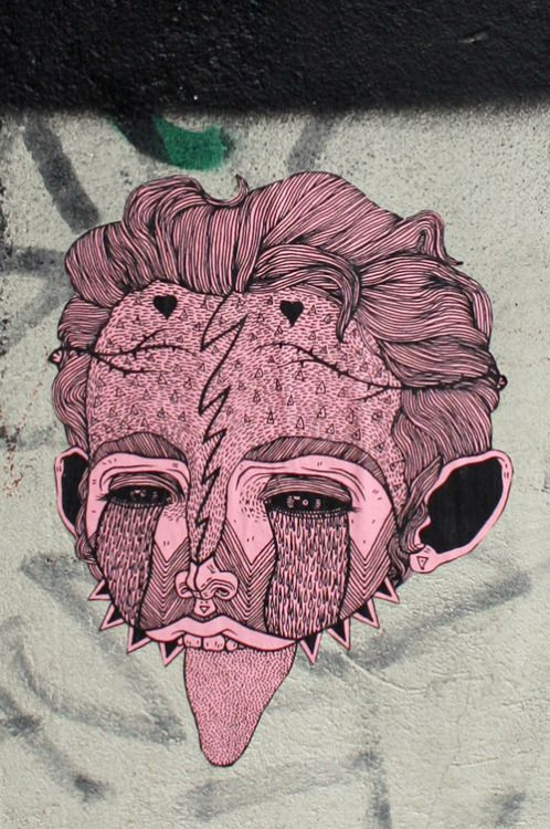 josehateslife:  Pink pasteup in London