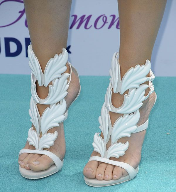 "Who Looked Best in the Giuseppe Zanotti x Kanye West ""Cruel Summer"" Sandals?"