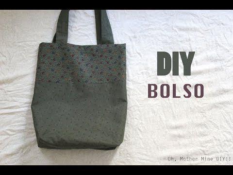 DIY Cómo hacer un bolso en dos colores http://ini.es/1uOMNYK #ComoHacerUnBolso, #DIY