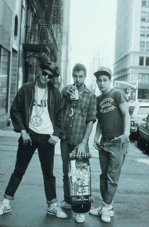 The Beastie Boys : everything about this pic is awesome.