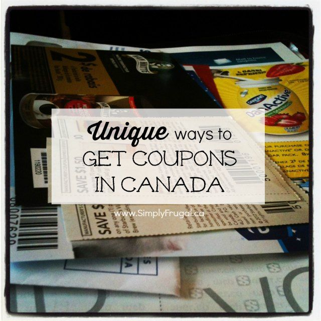 Here are some unique ways to build your coupon collection in Canada