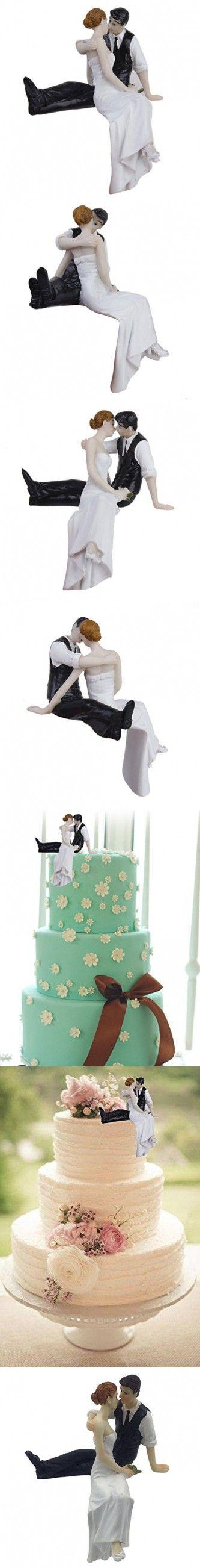 Romantic Look of Love Bride and Groom Wedding Cake Topper Cake Decoration Figurine Keepsake