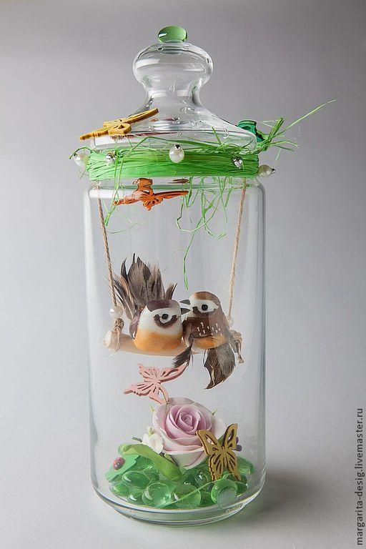 Скоро День Влюблённых! Отличный подарок своим любимым! Скоро Свадьба- не знаете, что подарить! Оригинальный сувенир Молодожёнам! Влюблённые птички ждут Вас! Автор Веденеева Маргарита.