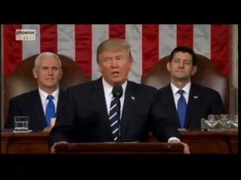 Meinungsbildung: Donald Trumps Rede vor dem Kongress auf deutsch - Faktum Magazin