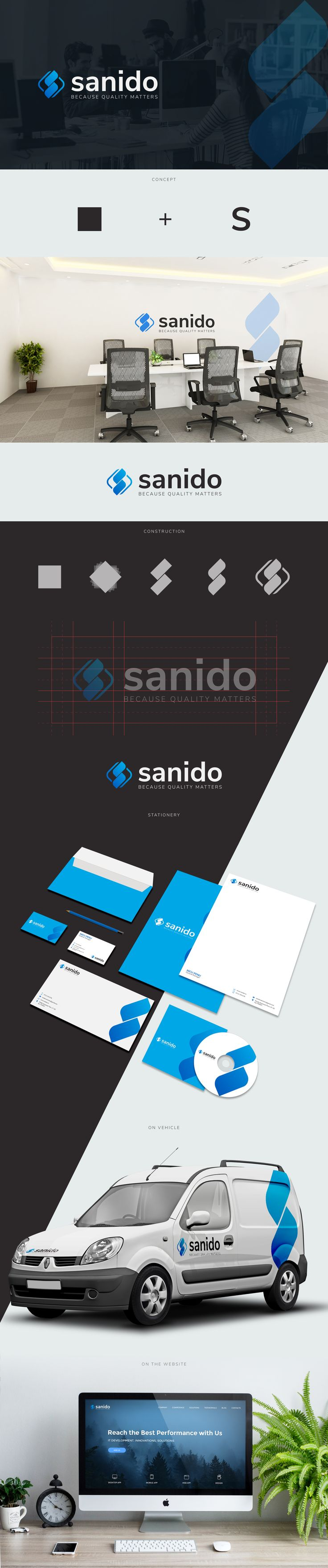 Branding proposal made for - Sanido