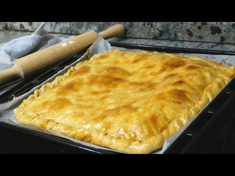 Empanada de pollo. Masa casera muy fácil y rápida - YouTube