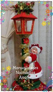 Manualidades Navideñas Anafer: Farol Mamá Noela