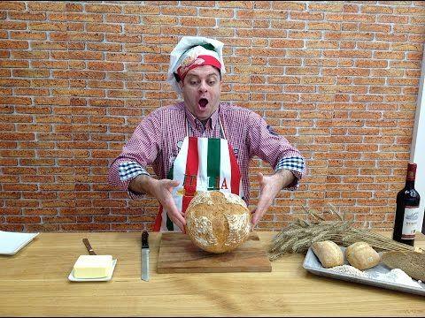 Nejlepší a nejjednodušší recept na domácí chléb, Vařte s Majklem - YouTube