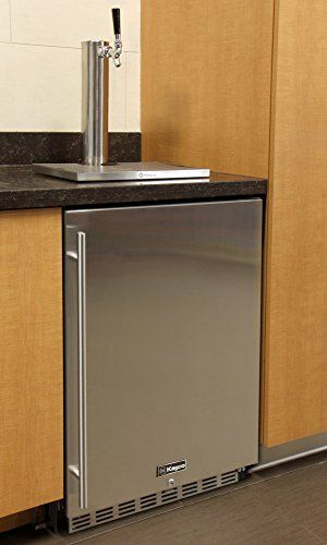 Kegco Full Size Digital Undercounter Kegerators Indoor Commercial Pa Product Beer Keg Refrigerators Pinterest Fridge And