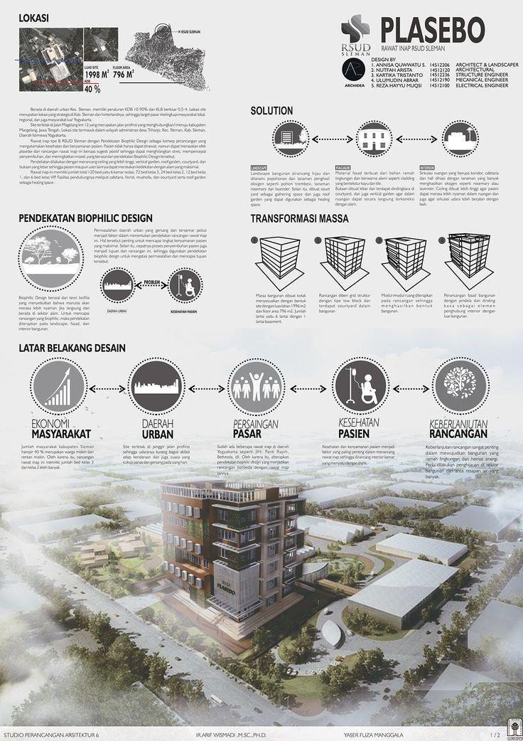 ARCHITECTURE PRESENTATION BOARD SPA 62 ARCHITECTURE