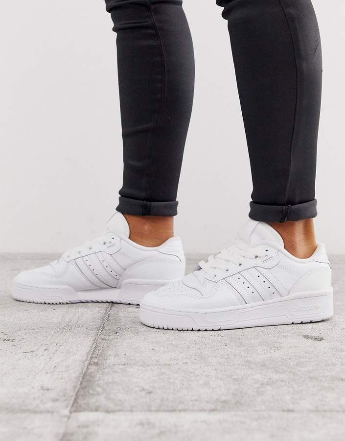 Shop Women's Adidas Leather Trainers up