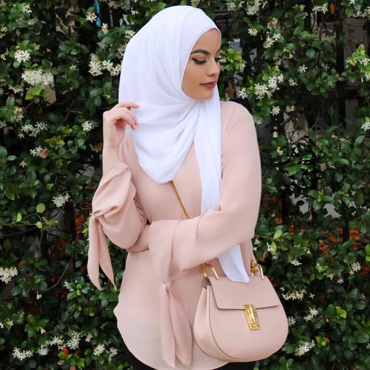 Pastel rose tunic with bag in the same tone - check out: Esma <3