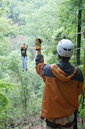 Ozark Mountain Ziplines: Owner description: Come and experience the thrill of the