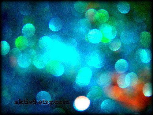 Bokeh II Glitter Abstract Art Fine Art 8x10 Archival by aktie9, $20.00