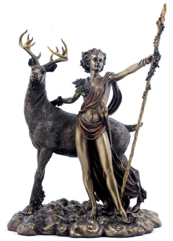 Diana ~ The Hunteress & Goddess of the Moon (Artemis) ~ www.TheGuidingTree.com - $64.00