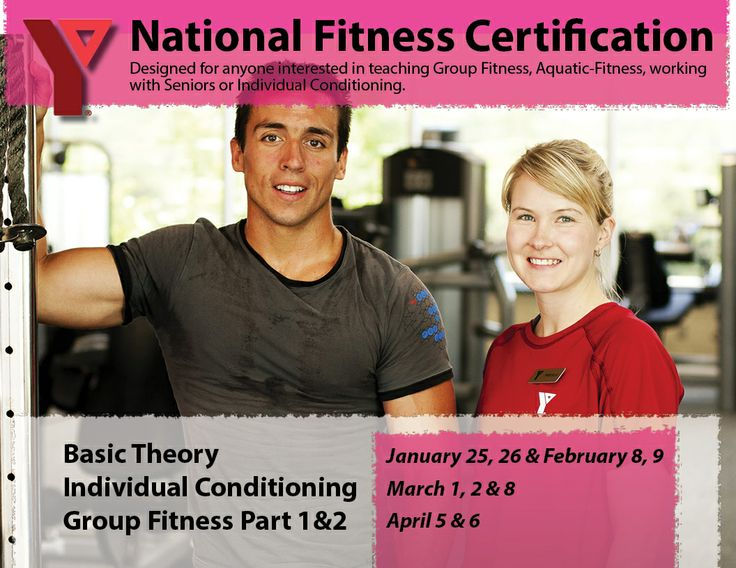 Want to become a #Fitness #Instructor?  Join us to become #certified!