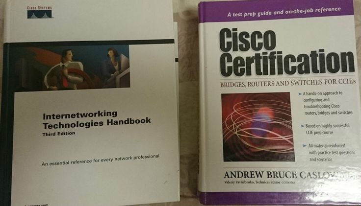 CISCO Bücherpaket Lernbücher Sammlung Studium