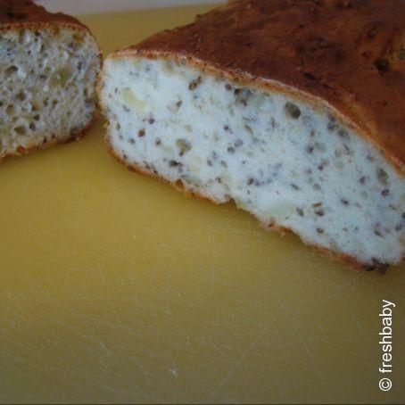 CHIA-SAMEN-Kartoffelbrot! LOW CARB-Brot für einen gesunden Start in den Tag!