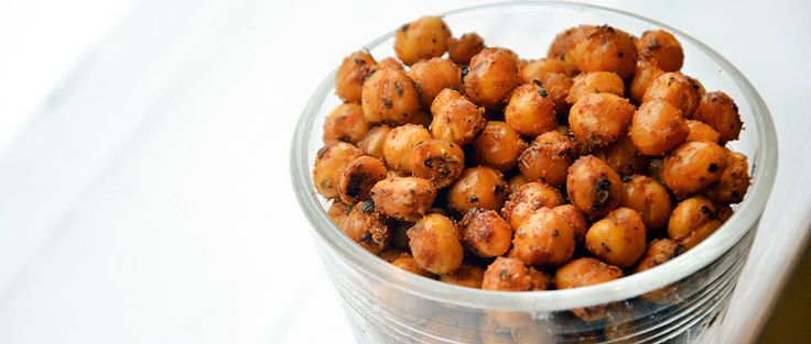Spice up your night with this hot and spicy chickpea recipe that takes just 15 minutes of prep time.